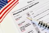 Tờ yêu cầu bỏ phiếu vắng mặt.