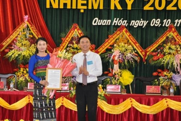 bí thư huyện Quan Hóa, Thanh Hóa