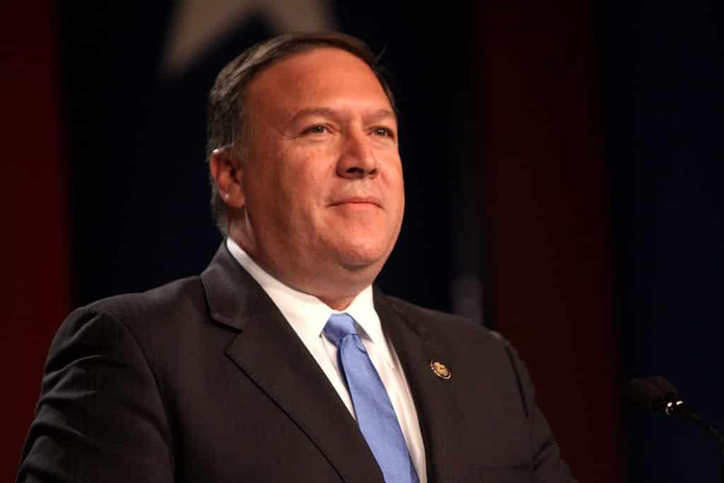 Ngoại trưởng Mỹ Mike Pompeo