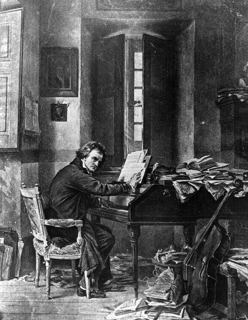 Beethoven: Hạnh phúc lớn nhất trong đời người là được gần với Chúa