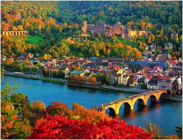 Kết quả hình ảnh cho thành phố Heidelberg