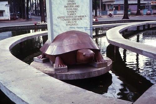 Hồ Con Rùa qua các thời kỳ lịch sử