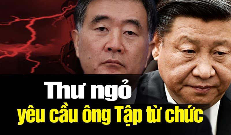 Giáo sư Trung Quốc gửi thư thúc giục ông Tập Cận Bình từ chức
