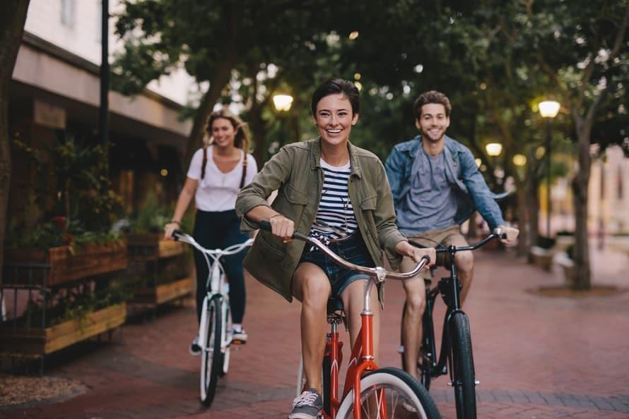 Đạp xe đạp đi làm sống lâu hơn
