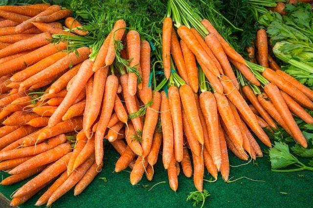công dụng tuyệt vời của cà rốt