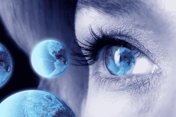 Dao thị, một năng lực của con mắt thứ ba cho phép thấy cảnh tượng cách xa hàng ngàn cây số (ảnh: freeclairvoyantreading)