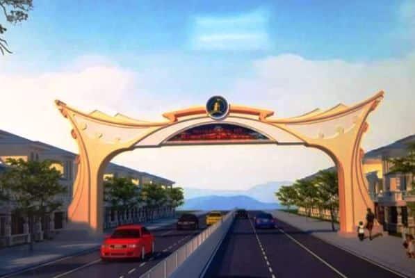 thành phố Đồng Hới, Quảng Bình, xây cổng chào