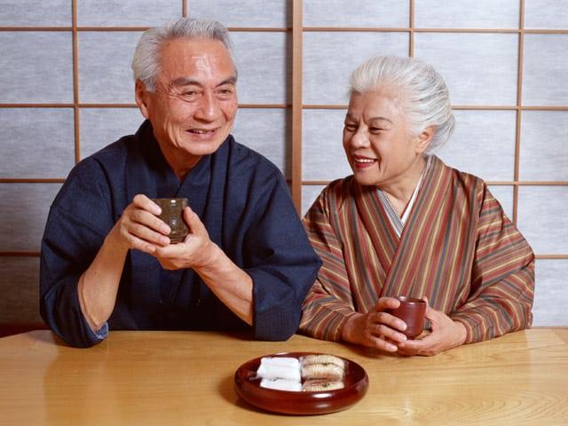 người Nhật, cuộc sống trường thọ