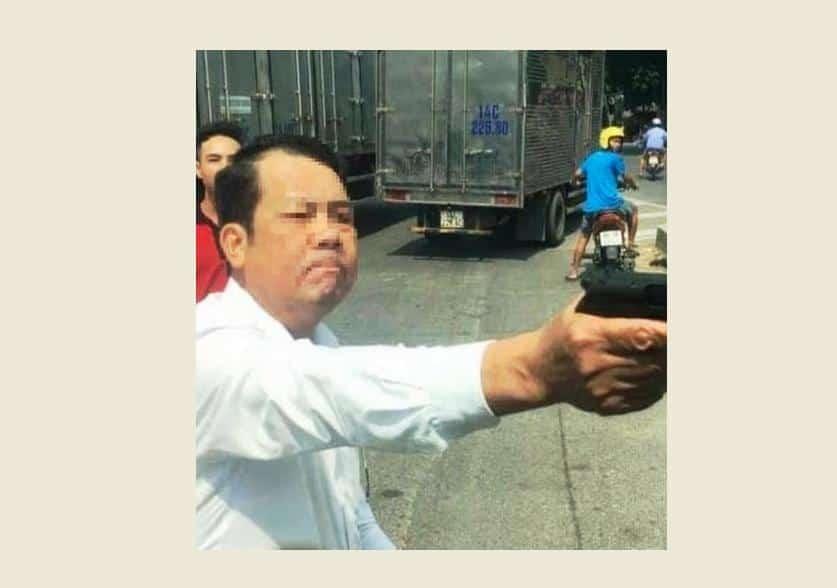 Bắc Ninh, dùng súng đe dọa người dân