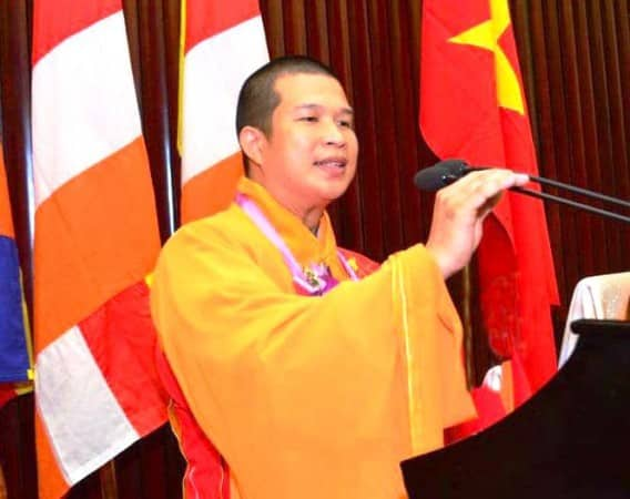 ông Thích Phước Ngọc, trụ trì chùa Phước Quang