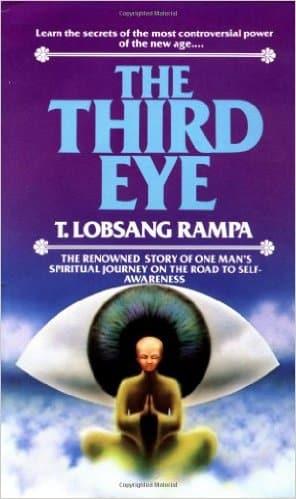 Cuốn sách The Third Eye - Con mắt thứ ba của Lạt ma Lobsang Rampa (bản tiếng Anh) (ảnh: amazon)