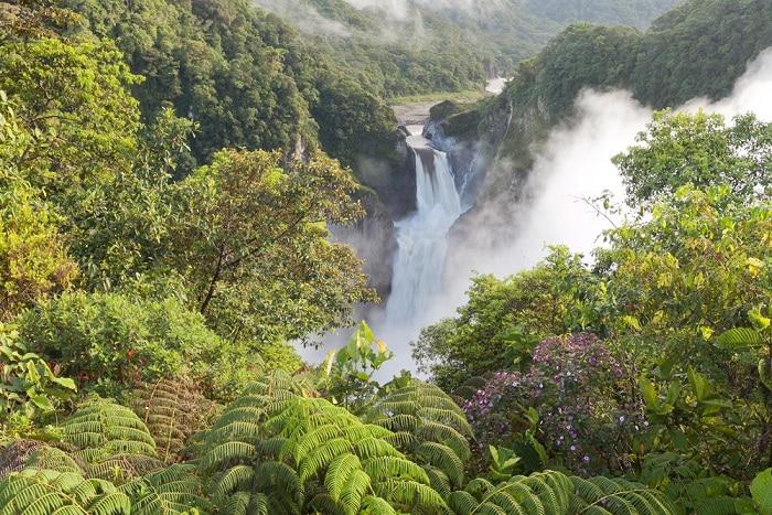 thác nước San Rafael, thác nước