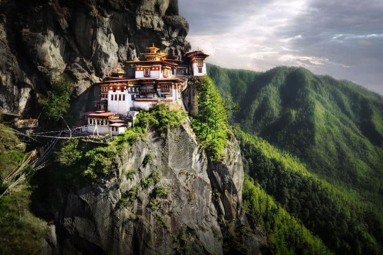Tigers Nest Monastery, Taktsang Bhutan