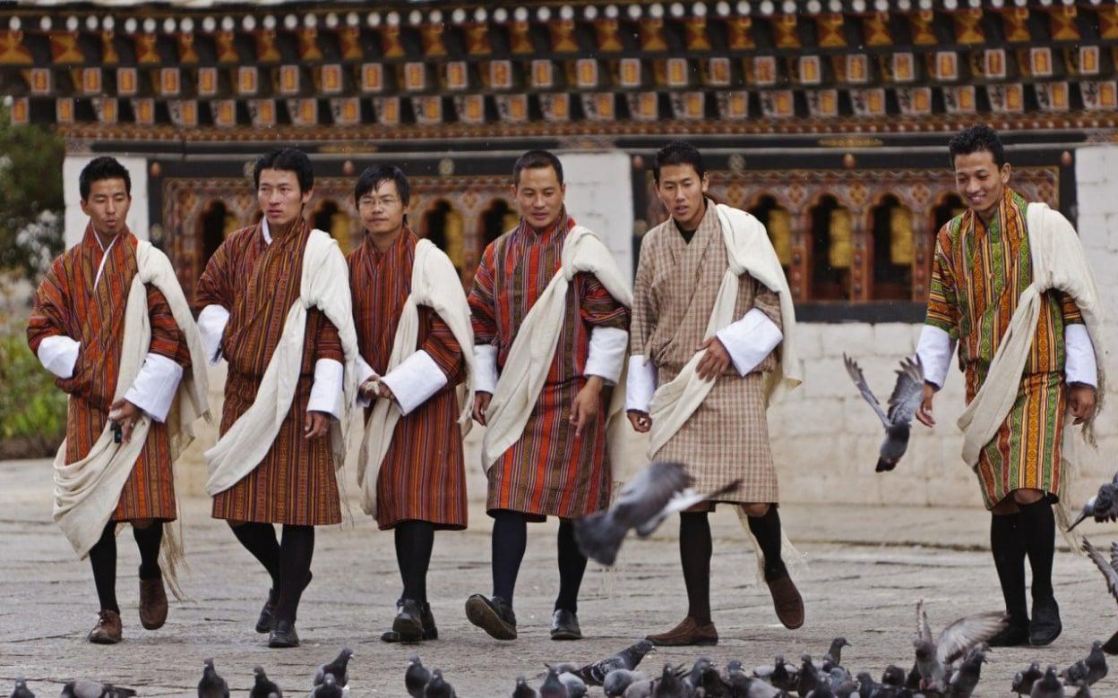 Image result for bhutan men
