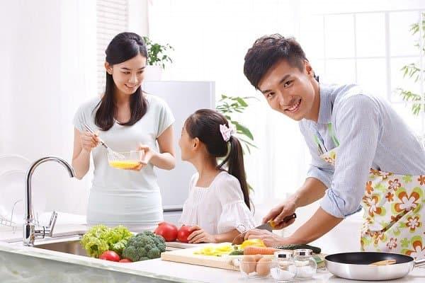 đàn ông sợ vợ, nội trợ gia đình