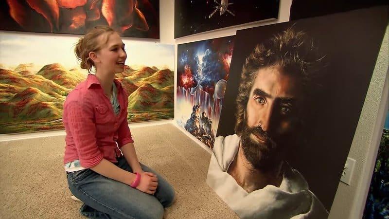 Cô bé kiếm hàng triệu đô nhờ vào tài năng vẽ tranh thiên bẩm