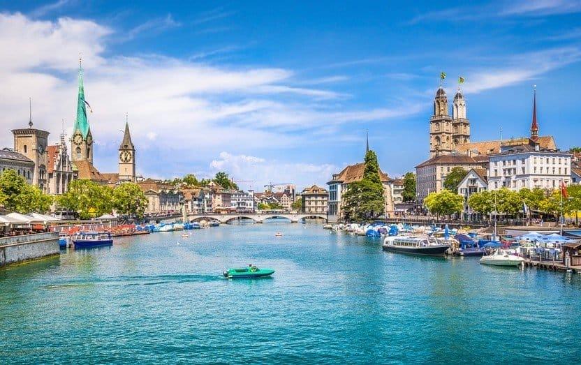 Zurich, thành phố có chất lượng không khí sạch nhất thế giới,