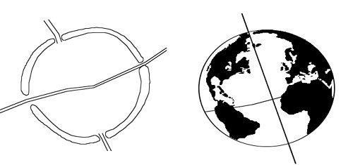 Bản mô phỏng Trái đất của Avebury – Trái đất thực sự