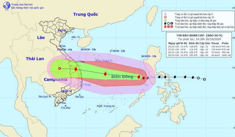 bão số 9, mưa lũ miền Trung