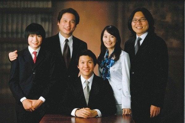 Gia đình cô Trần Mỹ Linh. (Ảnh: Internet)
