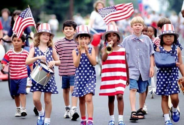 trẻ em ở Mỹ