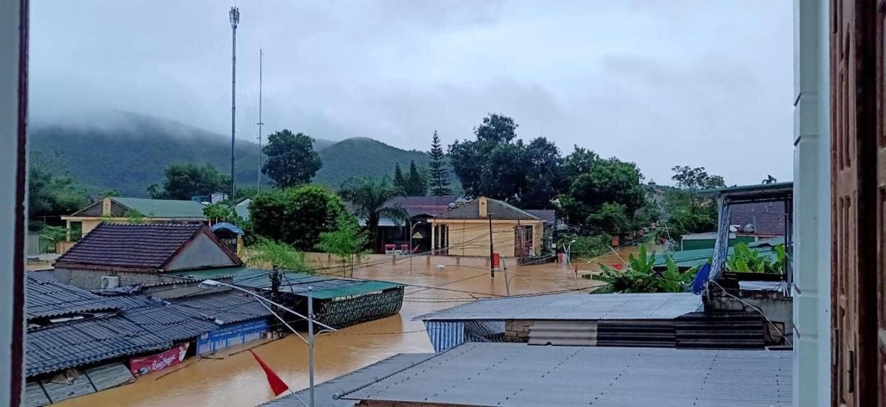 mưa lũ Nghệ An, Nghệ An