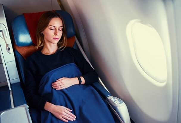 ngủ ngon trên máy bay, đi máy bay