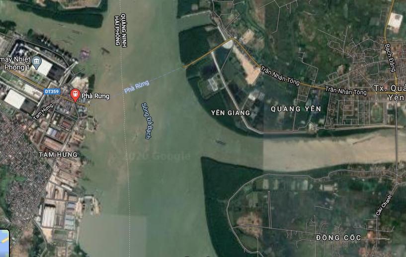 cầu Bến Rừng, Phà Rừng, Hải Phòng