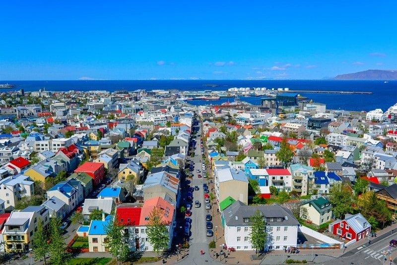 Rekyjavík, thành phố có chất lượng không khí sạch nhất thế giới,