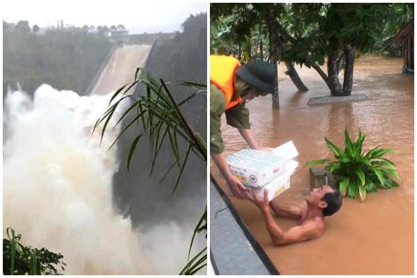 hồ thủy điện Quảng Trị xả lũ, Quảng Trị