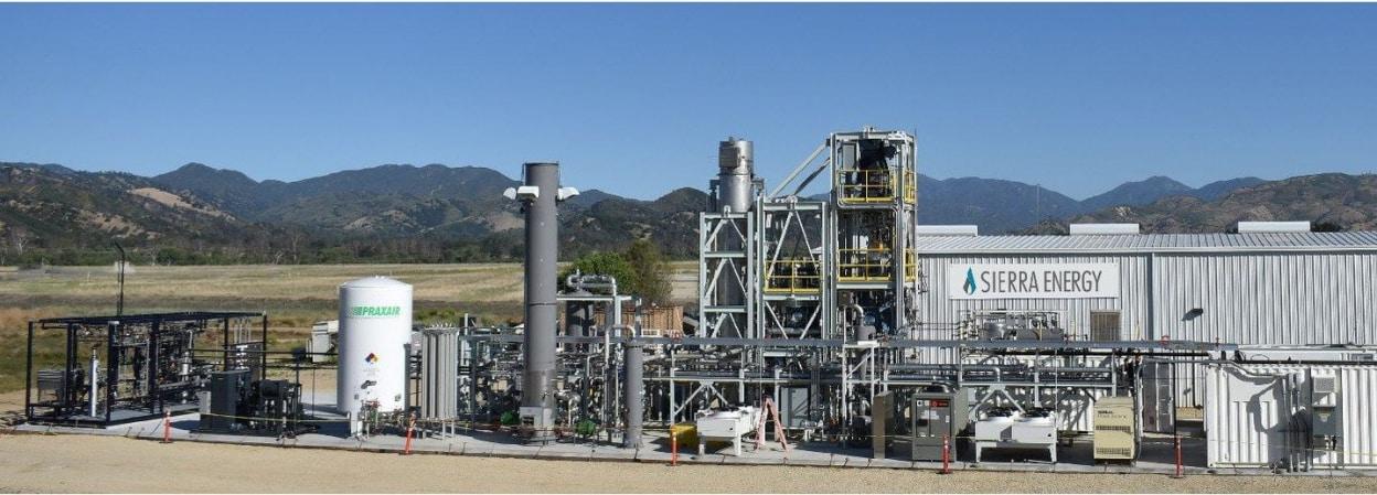 Công nghệ đốt rác thải đột phá Sierra