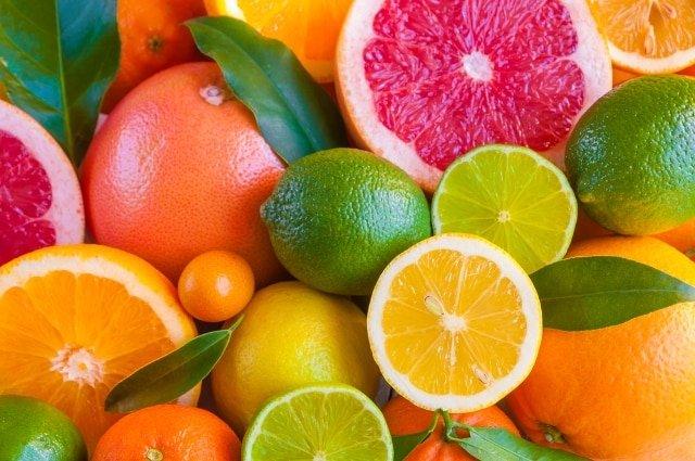 trái cây họ cam quýt, mùa hè