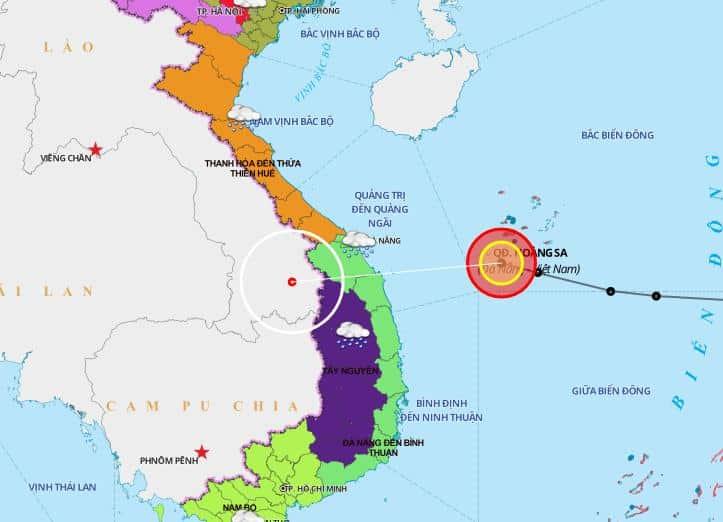 áp thấp nhiệt đới, miền Trung