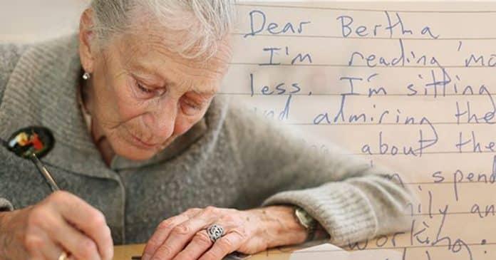 Bức thư suy ngẫm về cuộc đời của cụ bà 83 tuổi