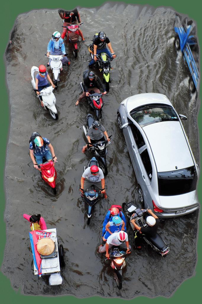đương lụt
