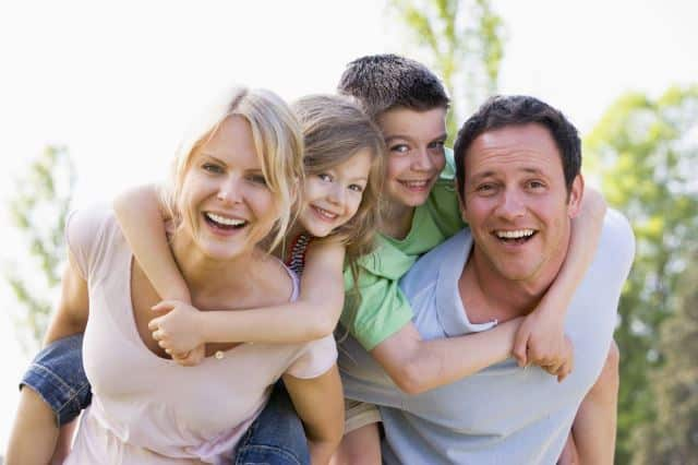 gia đình hạnh phúc, Sức mạnh của nụ cười