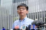 Joshua Wong bị biệt giam với đèn chiếu sáng 24/24