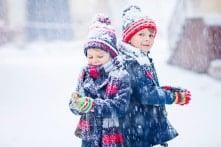 Lý do trẻ em không thấy lạnh như người lớn vào mùa đông