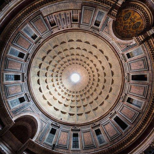 Mái vòm đền Pantheon