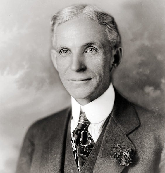 """Câu chuyện thành công của """"ông hoàng xe hơi"""" nước Mỹ Henry Ford"""