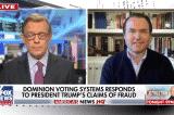 Người phát ngôn Dominion phủ nhận việc 'chuyển phiếu bầu' từ Trump sang Biden