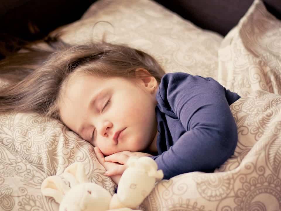 Bé, Cô Gái, Ngủ, Con, Trẻ Mới Biết Đi, Chân Dung