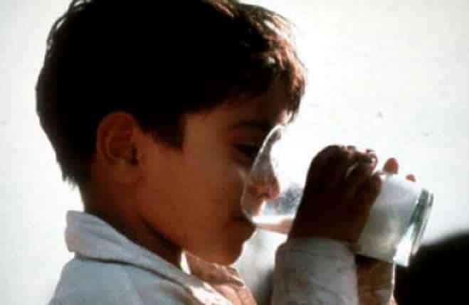 """""""Trị giá hóa đơn bằng... một ly sữa"""""""