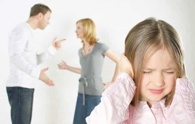 điều trẻ con sợ nhất, bố mẹ cãi nhau