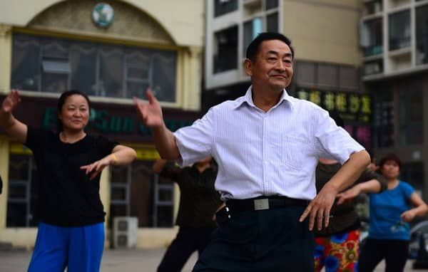 Image result for middle-aged man dancing