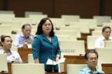 Thứ trưởng Bộ Giáo dục Việt Nam, bà Ngô Thị Minh, SGK Tiếng Việt lớp 1