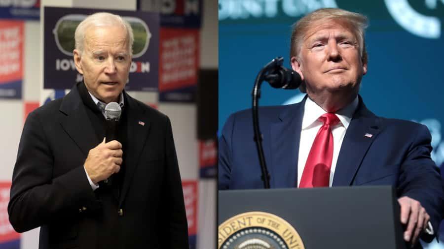 Bầu cử TT Mỹ, Donald Trump, Joe Biden
