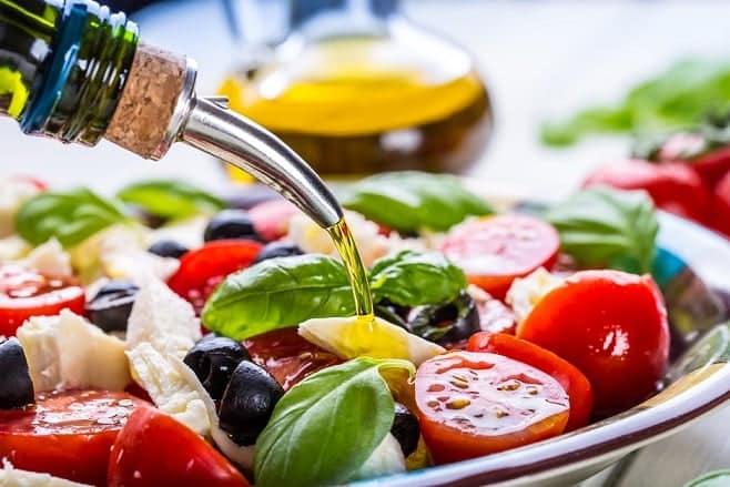 Chế độ ăn Địa Trung Hải, dầu olive