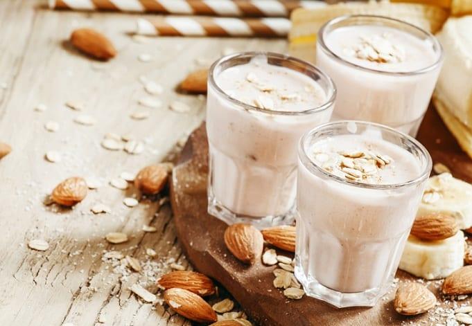 sữa yến mạch, ăn uống dưỡng sinh
