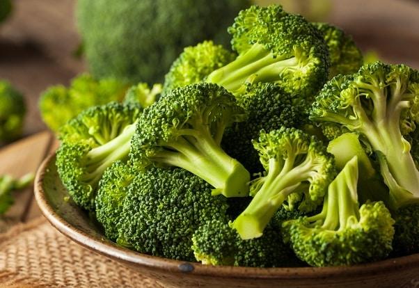 thực phẩm giúp tăng cường trao đổi chất, súp lơ, bông cải xanh
